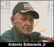 antonio soberanis Best answer: yes he is a belizean he was a labour activist and he founded the labour and unemployed asscociation in 1934 he demanded poverty relief work and wanted a wage given for those who worked he began to hold regular meetings at the battlefield (a place in belize), now battlefield park in belize city, demanding work for the unemployed.